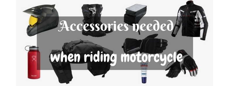 Accessories needed