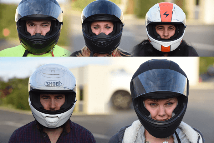 Fit motorcycle helmet right