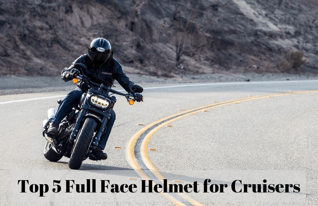 Full Face Cruiser Helmets >> The Five Best Full Face Helmets For Cruisers Pick My Helmet