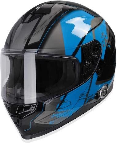 BM22 Bluetooth Evolution Modular Helmet with Dual Visors