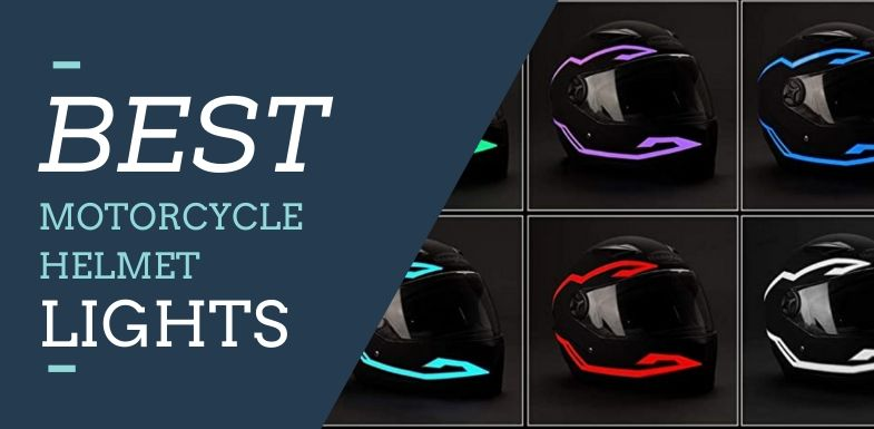 Best Motorcycle Helmets LED Lights
