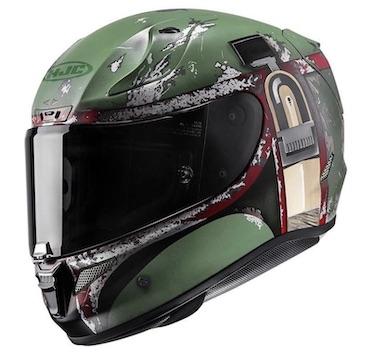 Boba Fett RPHA-11 Pro Star Wars Motorcycle Helmet