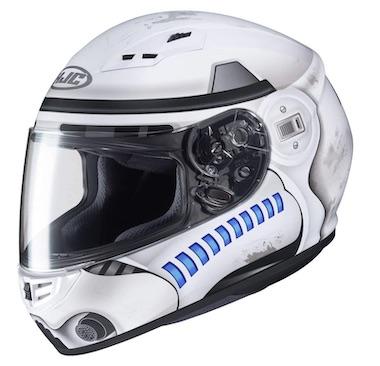 CS-R3 Storm Trooper Star Wars Motorcycle Helmet