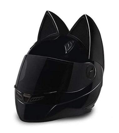 Cat Ear Motorcycle Helmet Review by Nitrinos