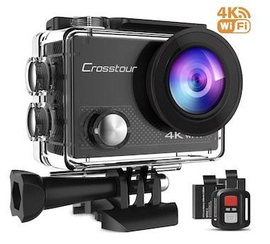 Crosstour Action Camera 4K 16MP WiFi