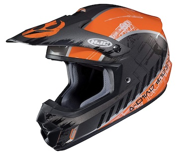 HJC CS-MX II X-wing Fighter Dirt Bike Helmet Review
