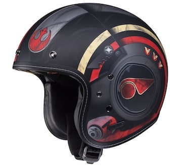 HJC IS-5 Poe Dameron Motorcycle Helmet Review