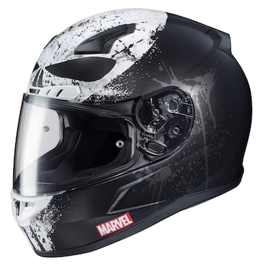 HJC Marvel CL-17 Punisher 2 Motorcycle Helmet Review