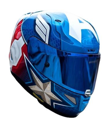 HJC RPHA 11 Marvel Captain America Motorcycle Helmet Review