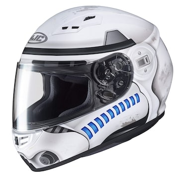 HJC Star Wars CS-R3 Storm Trooper Motorcycle Helmet Review