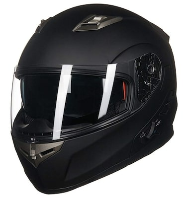 ILM Bluetooth Integrated Modular Flip up Full Face Motorcycle Helmet Review