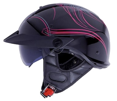 LS2 Helmets Half Motorcycle Helmet Review Rebellion
