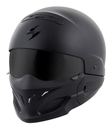 ScorpionExo Covert Black Motorcycle Helmet Review