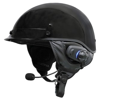 Sena Bluetooth Headset Intercom with Built in FM Tuner Accessory for Half Motorcycle Helmets