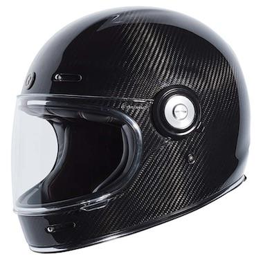 TORC T1 Retro Carbon Fiber Motorcycle Helmet