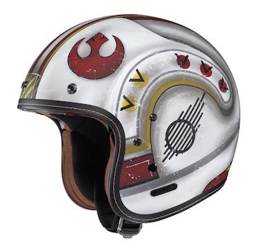 X Wing Rebel Fighter Star Wars Motorcycle Helmet